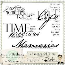 time...memories